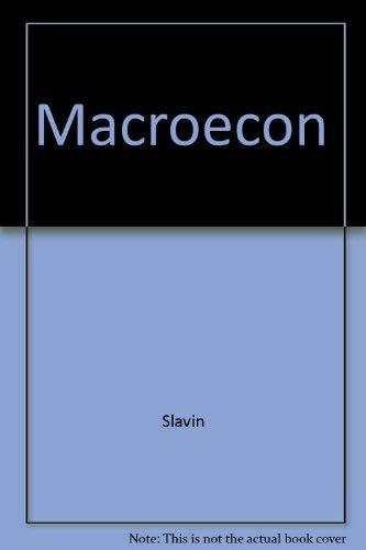 9780256171747: Macroeconomics
