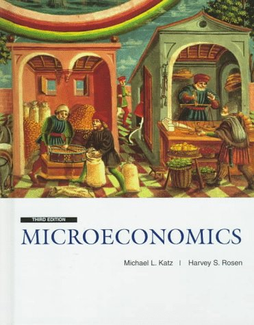 9780256171761: Microeconomics (Irwin/Mcgraw-Hill Advanced Series in Economics)