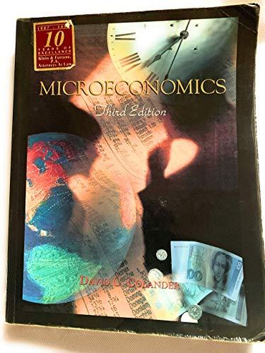 9780256172737: Microeconomics