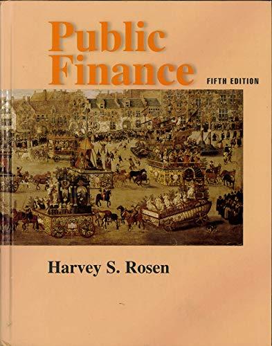 9780256173291: Public Finance