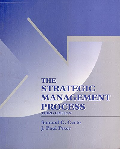 9780256181494: The Strategic Management Process