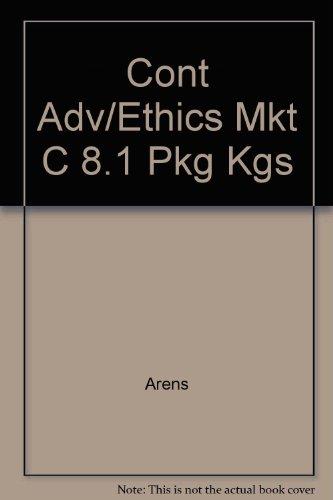 9780256182439: Cont Adv/Ethics Mkt C 8.1 Pkg Kgs