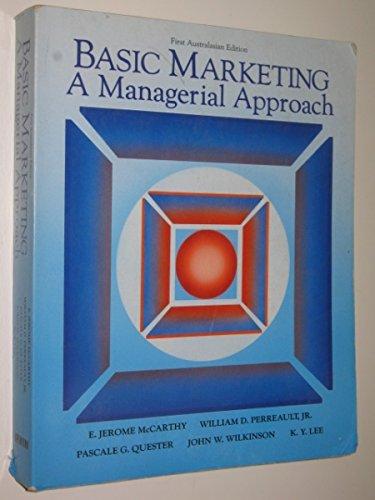 9780256183047: Basic Marketing