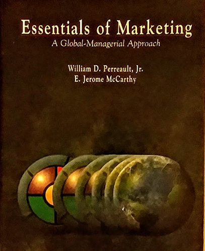 9780256183412: Essentials of Marketing: A Global-Management Approach (Irwin Series in Marketing)