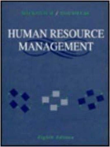 9780256193541: Human Resource Management