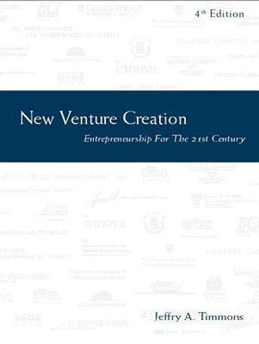 9780256197563: New Venture Creation: Entrepreneurship for the 21st Century