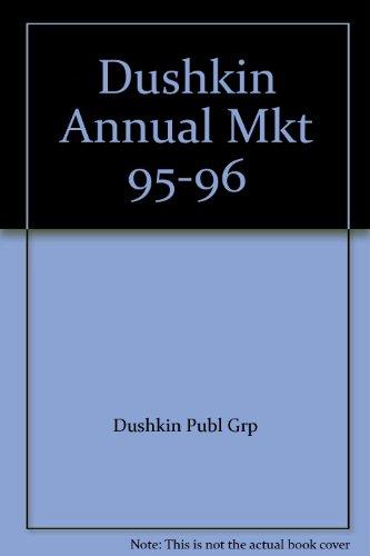 Dushkin Annual Mkt 95-96: Dushkin Publ Grp