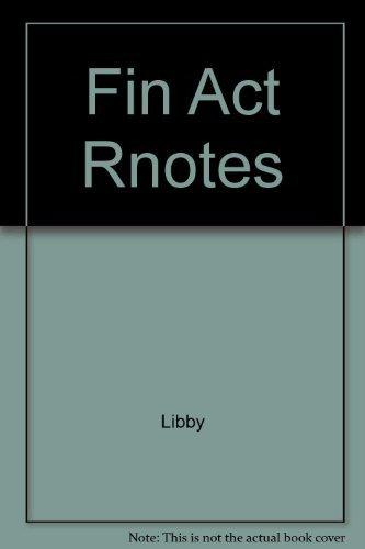 9780256199772: Fin Act Rnotes
