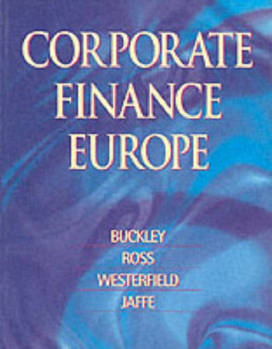 Corporate Finance Europe.: Buckley, Adrian /