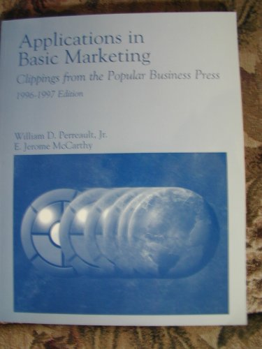 9780256204766: Applications in Basic Marketing