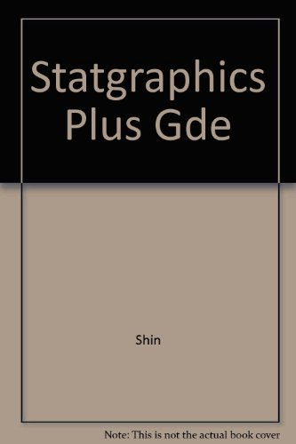 9780256206487: Statgrahics Guide (The Irwin statistical software series)