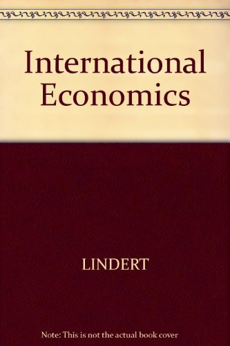 9780256206869: International Economics