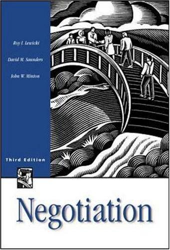 9780256208320: Negotiation