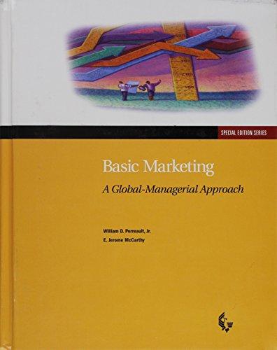 9780256209822: Basic Marketing