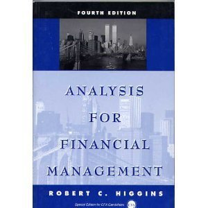 9780256211337: Analysis for Financial Management