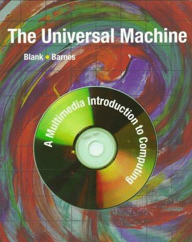 9780256211405: The Universal Machine with CDROM