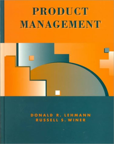 9780256214390: Product Management (Mcgraw Hill/Irwin Series in Marketing)