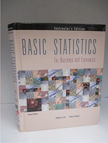 9780256214994: Basic Statistics for Business and Economics