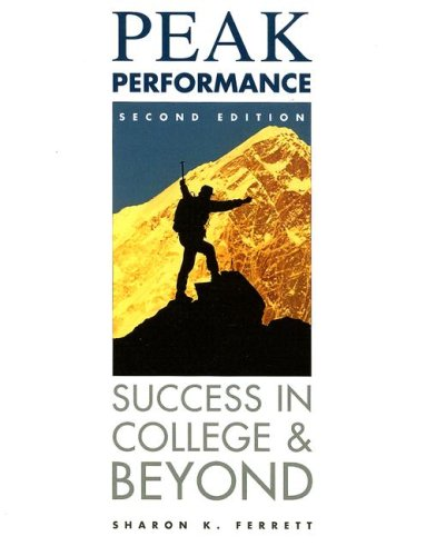 9780256219951: Peak Performance: Success in College and Beyond