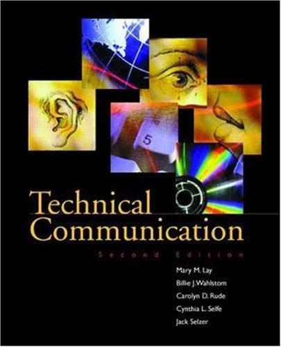 9780256220582: Technical Communication