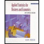 9780256225549: Applied Statistics for Business and Economics: An Essentials Version (The Irwin/Mcgraw-Hill Series in Operations and Decision Sciences)