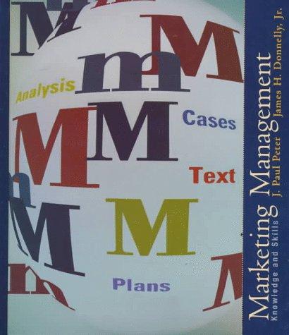 9780256226331: Marketing Management: Knowledge and Skills (Irwin/McGraw-Hill Series in Marketing)