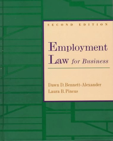 9780256229028: Employment Law for Business