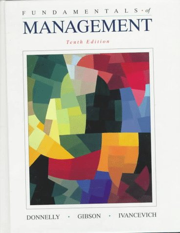 9780256232370: Fundamentals of Management