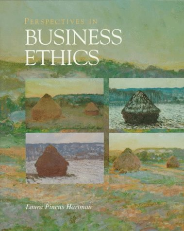 9780256233179: Perspectives in Business Ethics (McGraw-Hill International Editions: Management & Organization Series)
