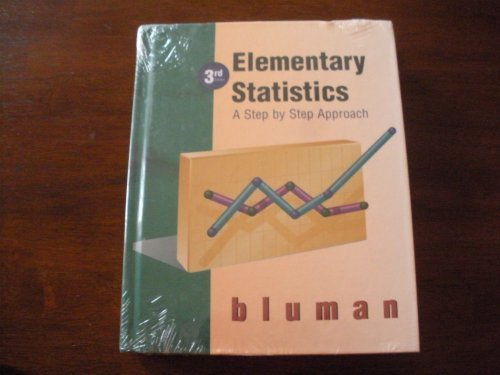 9780256234312: Elementary Statistics: A Step by Step Approach