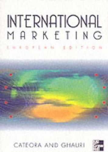 International Marketing: European Edition: Ghauri, Pervez and