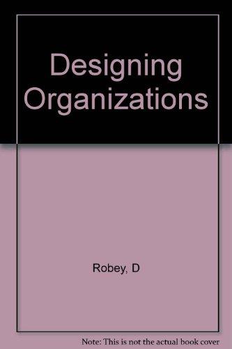 9780256238853: Designing Organizations