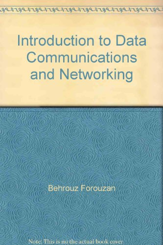 9780256239157: Introduction to Data Communications and Networking