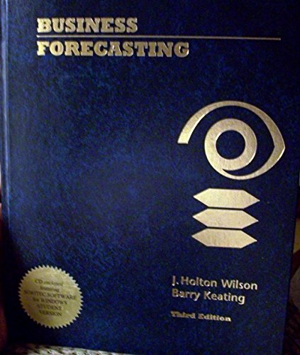 9780256239560: Business Forecasting