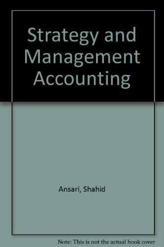 9780256242423: Strategy and Management Accounting