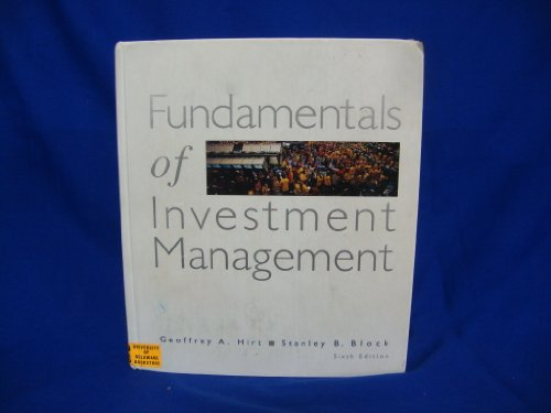 9780256246247: Fundamentals of Investment Management (IRWIN MCGRAW HILL SERIES IN FINANCE, INSURANCE AND REAL ESTATE)
