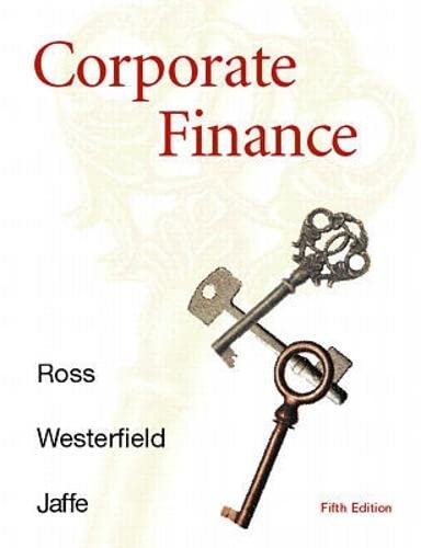9780256246407: Corporate Finance (Irwin/Mcgraw-Hill Series in Finance, Insurance, and Real Estate)