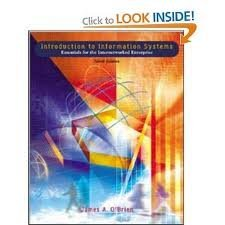9780256251968: Introduction to Information Systems: An Internetworked Enterprise Perspective