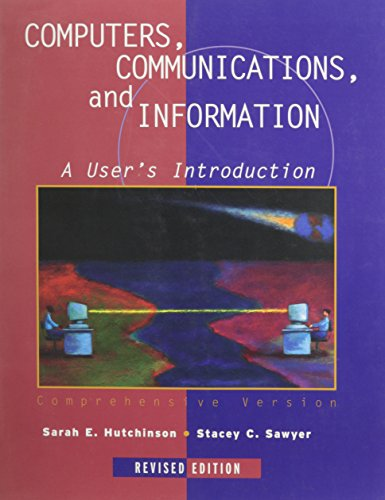 9780256252774: Computers, Communications & Information (Comprehensive Edition)