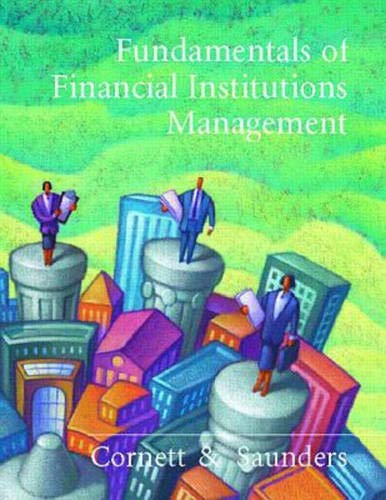 9780256253672: Fundamentals Of Financial Institutions Management