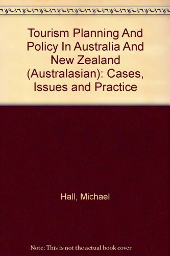 9780256254518: Tourism Planning And Policy In Australia And New Zealand (Australasian): Cases, Issues and Practice