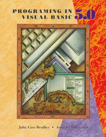 9780256259414: Programming In Visual Basic Version 5.0