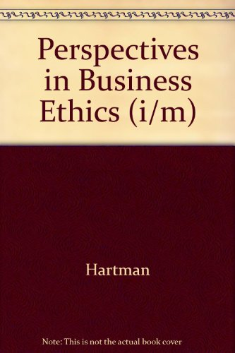 9780256260373: Perspectives in Business Ethics (i/m)