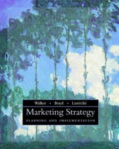 9780256261189: Marketing Strategy: Planning and Implementation (Irwin/McGraw-Hill Series in Marketing U.S.-Mexico Contempora)