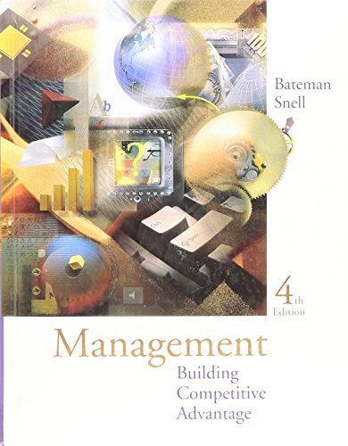 9780256261424: Management : Building Competitive Advantage - Text Only 4TH EDITION