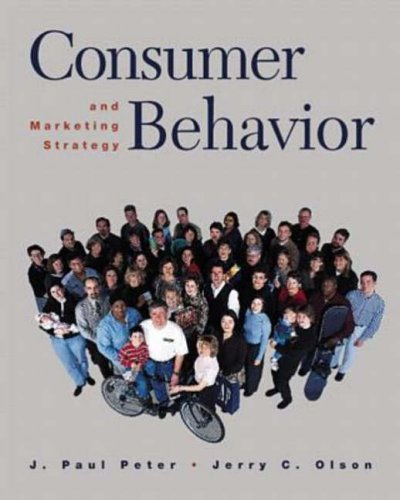 9780256261905: Consumer Behavior and Marketing Strategy