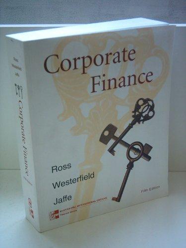 9780256261943: Corporate Finance