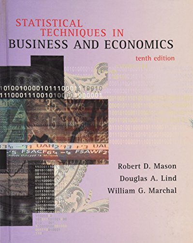 9780256263077: Statistical Techniques in Business and Economics