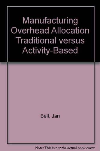 9780256263923: Manufacturing Overhead Allocation: Traditional vs. Activity-Based