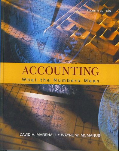 Accounting: What the Numbers Mean: David H. Marshall,